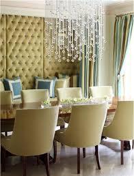 dining room crystal chandelier ideas