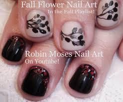 diy easy fall nails 2 easy autumn short nail art design tutorial