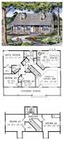 293 best home design blueprints images on pinterest house floor capecod style cool house plan id chp 45832 total living area 1040