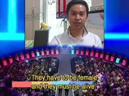 Why Is This Chinese Dating Show So Popular in Australia    Vision     Vision Times That     s really high standard for a date   Image  Facebook