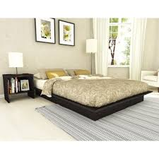 modern floating bed frame without headboard queen size of trendy