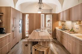 wood kitchen furniture and cabinets habito by giuseppe rivadossi