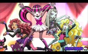 monster high anime scary cool girls episode 2
