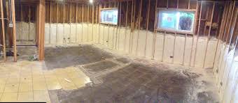 Insulating Basement Concrete Walls by Revfoam Professional Spray Foam Insulation In Chicago Il And Suburbs
