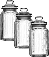 Glass Kitchen Canisters Airtight by 100 Kitchen Canisters And Jars Amazon Com Set Of 3 Deluxe