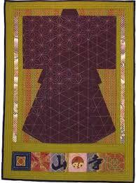 Японская вышивка в стиле сашико