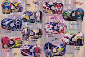 troy lee designs motocross helmet 80 u0027s u0026 90 u0027s custom painted helmets of the stars moto related