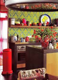 kitchen modern colorful kitchen ideas with red modern laminated
