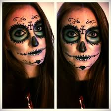 The 15 Best Sugar Skull Makeup Looks For Halloween Halloween by Sugar Skull Make Up