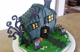 halloween haunted house cake cake decorating youtube