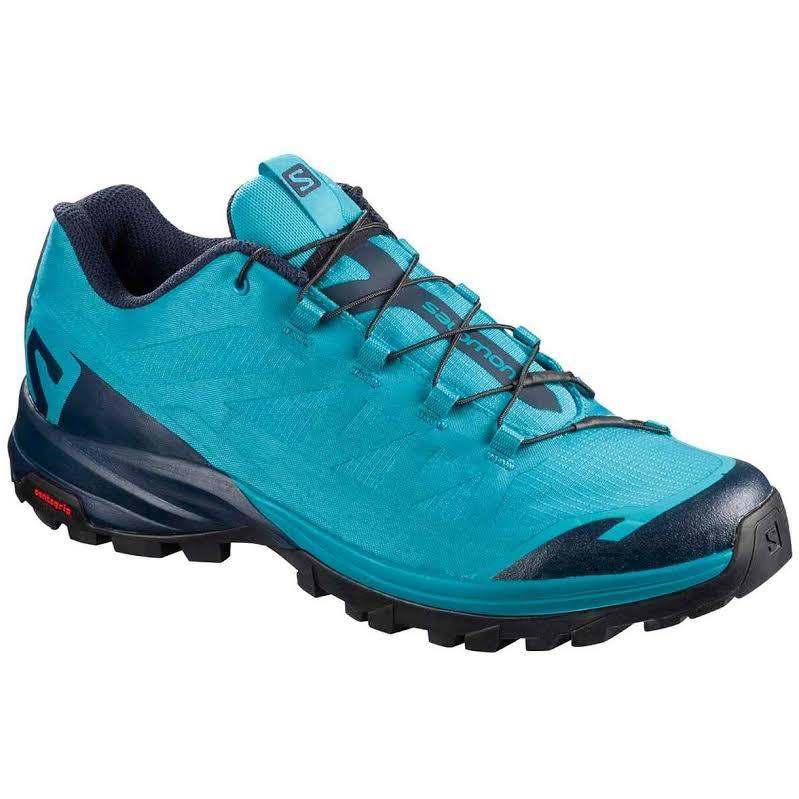 Salomon Outpath Hiking Boot Blue Bird/Evening Blue/Black 8 US Regular L40152400-8
