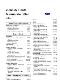 manual ford fiesta motor 1 6