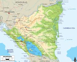 Map Of Western Caribbean by Maps Of Nicaragua Map Library Maps Of The World