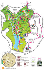 Phoenix Zoo Map by Botanical Garden Birds Park Batterfly Park And Many More