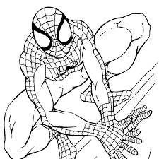 Coloring Ideas by Trendy Kids Coloring Pages Of Spiderman New On Set Gallery