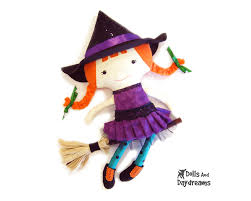 pattern witch costume dolls and daydreams doll and softie pdf sewing patterns