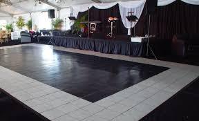 black and white dance floor rental orlando orlando event decor