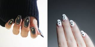 15 halloween nail art designs you can do at home halloween skull