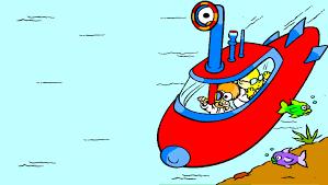 beaker u0026 bunsen muppet babies in a submarine coloring page youtube