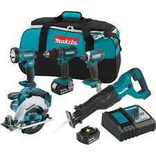 slickdeals home depot black friday makita 5 tool 18 volt lxt lithium ion cordless combo kit 299