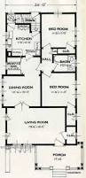 Small House Floor Plan by 1922 Classic California Style Bungalow House Plans E W