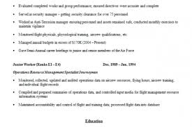 Ex Military Resume Examples by Infantry Squad Leader Resume Examples Reentrycorps