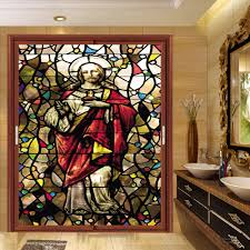 stained glass door film online buy wholesale stained glass window film for churches from