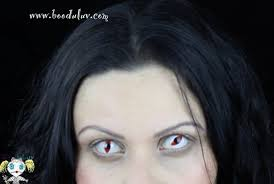 white contact lenses halloween review clear colors fashion white cat eye cosplay 10
