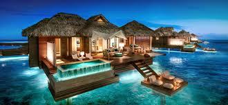sandals royal caribbean resort montego bay jamaica overwater