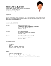 Resume Sample Job Application Malaysia happytom co