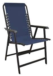 Childrens Garden Chair Amazon Com Caravan Sports Suspension Folding Chair Blue Patio