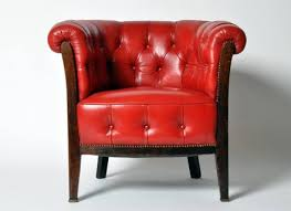 reclining armchair vibrant red leather recliner chair hastac 2011