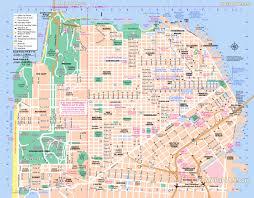 San Francisco Bart Map San Francisco Map Michigan Map