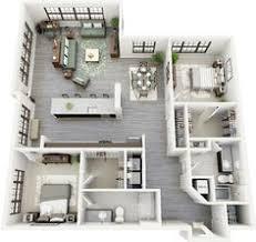 Two Bedroom Apartment Floor Plans 50 One U201c1 U201d Bedroom Apartment House Plans Studio Apartment Floor