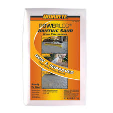 How To Seal A Paver Patio by Quikrete 50 Lb Powerloc Jointing Sand 115047 The Home Depot