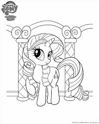 My Little Pony Colouring Pages By Coloringcolor Com April Rainbow Dash Getcoloringpagescom My Mlp
