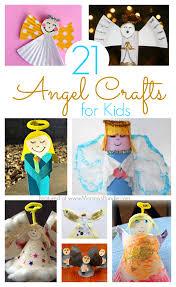 21 angel crafts kids can make at christmas mommy u0027s bundle
