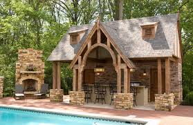 Diy Outdoor Kitchen Ideas Outdoor Pool And Fireplace Designs Outdoor Kitchen And Pool