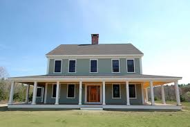 Modern Home Design New England New England Farmhouse W Wrap Around Porch Hq Plans U0026 Pics