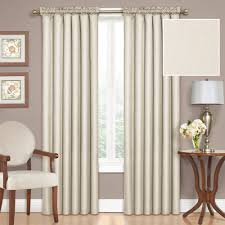 108 Inch Long Blackout Curtains by Eclipse Samara Blackout Energy Efficient Thermal Curtain Panel