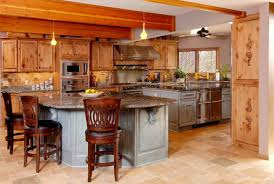 Stain Unfinished Kitchen Cabinets by 10 Rustic Kitchen Designs With Unfinished Pine Kitchen Cabinets