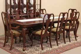 Antique Dining Room Tables by Sold Knob Creek Cherry 1992 Vintage Dining Set Table U0026 8 Chairs
