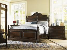 island traditions amherst carved panel bed lexington home brands
