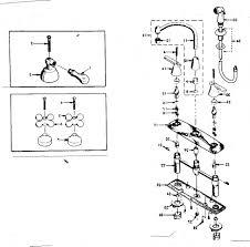 Moen Kitchen Faucet Assembly by Antique Moen Kitchen Faucet Parts Diagram Centerset Single Handle