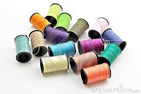 SPOOLS OF THREAD COLORS