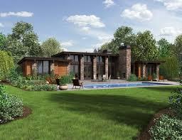 Best Modern Ranch Ideas On Pinterest Midcentury Ranch Mid - Modern style homes design