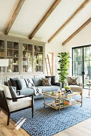Exposed Beam Ceiling Living Room by Blue Decor Is The Hottest Design Trend In 2015 Learn How To Use