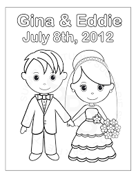 printable coloring pages for weddings omeletta me