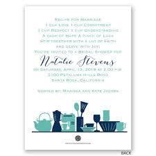 kitchen gadgets petite bridal shower invitation invitations by dawn