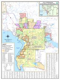 Map Of Washington Cities by Bellingham Washington City Map Bellingham U2022 Mappery